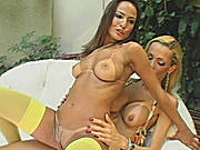 Tranny Bangs Babe and Dude in One Hot Transgender Threesome!