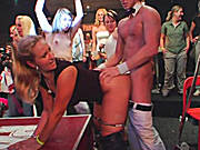 Amateur Babes Go Insane With Horniness at Real CFNM Stripper Party!